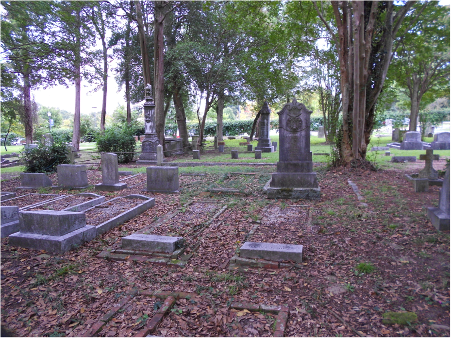 The Walker Family Cemetery on the corner of campus. Photo by Olivia Powell.